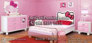 Set Kamar Anak Hello Kitty
