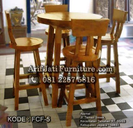 Supplier Kursi Bar Kayu Jati Kami Jual Harga Murah