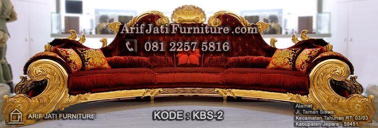 Mebel Kursi Sofa Michael Jackson Mewah Model Terbaru Trend Furniture Jepara 2017