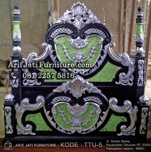 Dipan Manohara Marmer Black Silver Kombinasi Warna Terbaru Yang Sangat Bagus