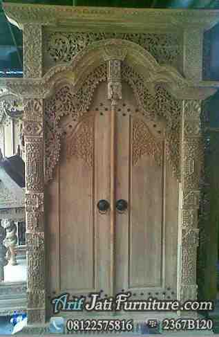 Model Pintu Gebyok Jawa