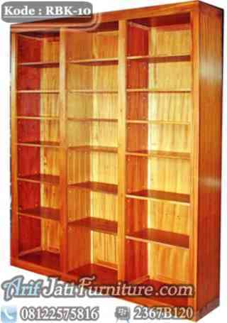 Model Rak Buku Perpustakaan