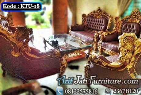Sofa Kursi Tamu Mewah Royal Calista