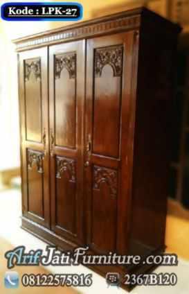 Almari Pakaian Majapahit 3 Pintu