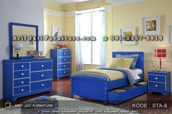 set kamar tidur anak minimalis murah