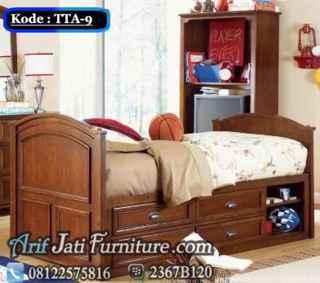 model tempat tidur anak