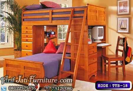 Tempat Tidur Minimalis Multy Fungsi