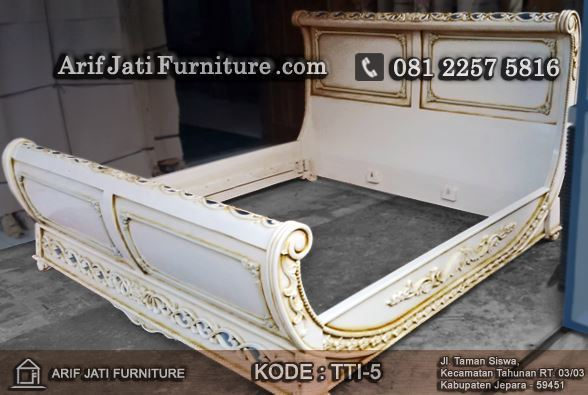 tempat tidur bagong model eropa