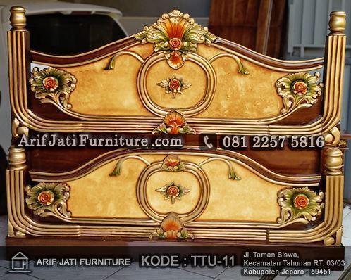 tempat tidur adinda marmer