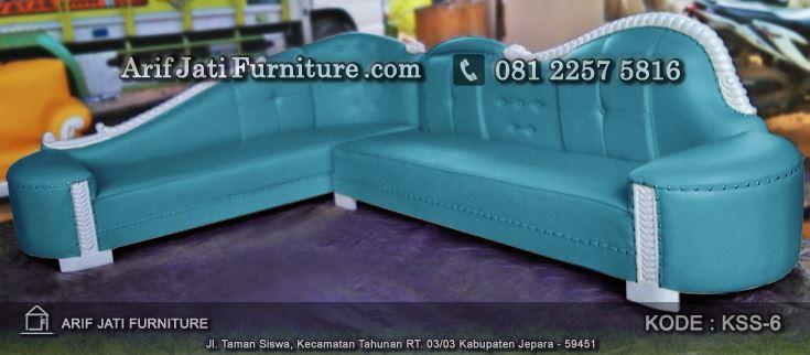 jual sofa sudut minimalis terbaru