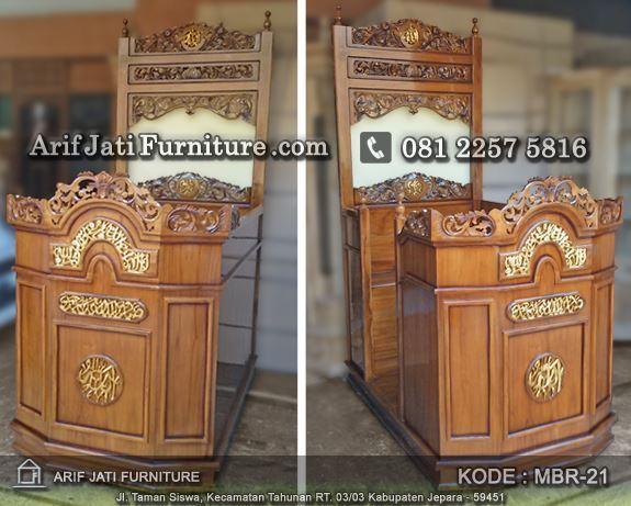 jual mimbar masjid harga murah