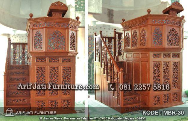 mimbar masjid mewah