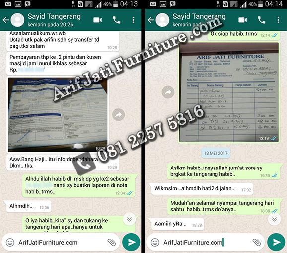 Arif Jati Furniture online terpercaya