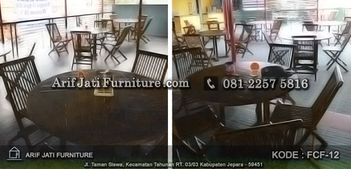 kursi lipat cafe indoor, kursi lipat kayu jati, kursi lipat untuk cafe, kursi lipat, kursi cafe