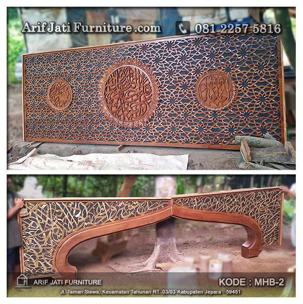 produksi mihrab pengimaman masjid jati tpk