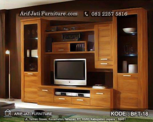 desain bufet tv minimalis terbaru