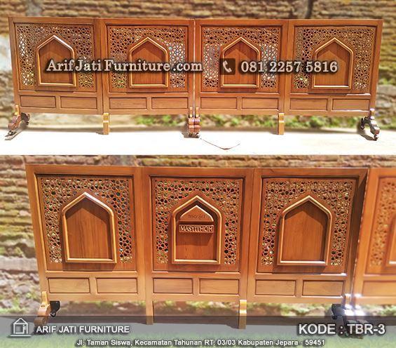 sketsel penyekat masjid dan mushola