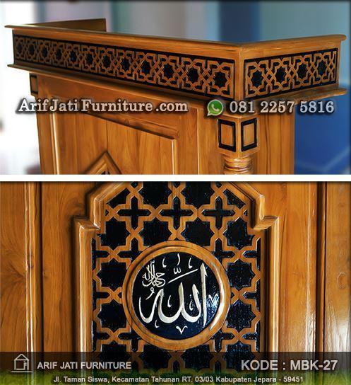 podium masjid minimalis