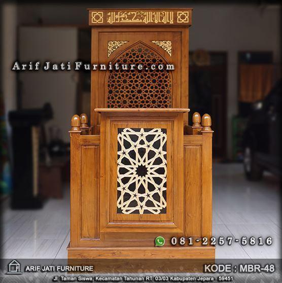 mimbar masjid minimalis harga murah