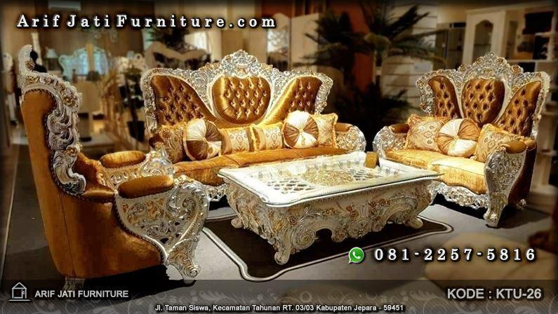 sofa kursi tamu bellagio mewah