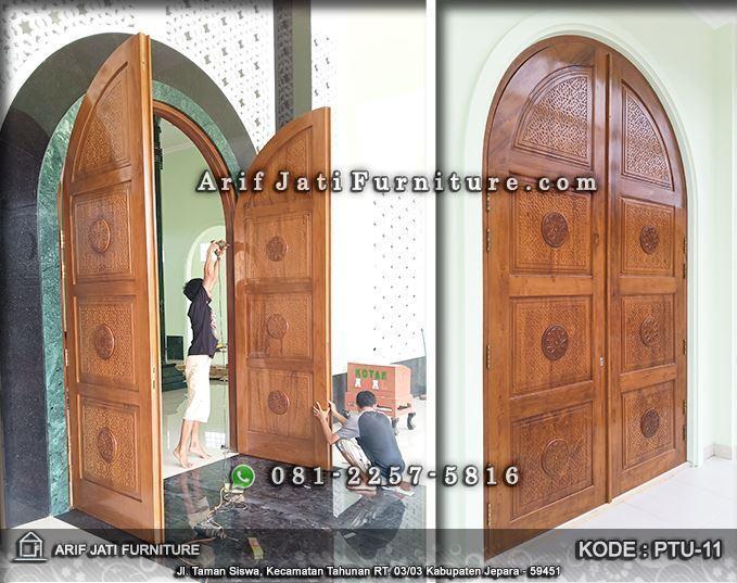 pintu masjid minimalis model terbaru