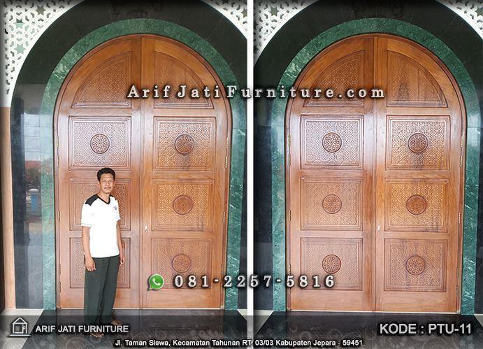 pintu masjid minimalis modern