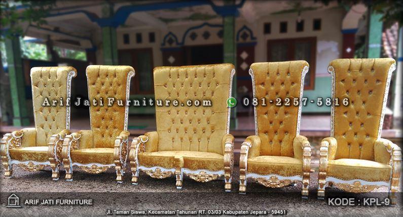 sofa kursi pelaminan bellagio mewah