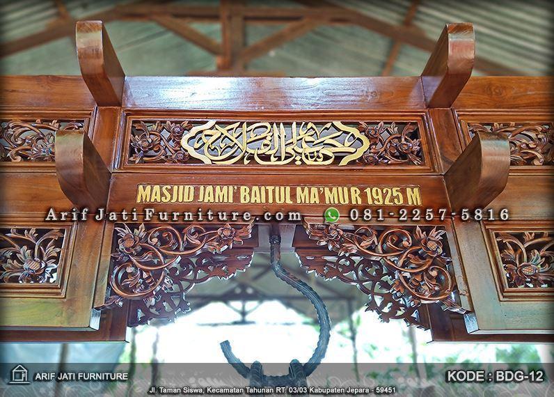 bedug masjid ukiran jepara