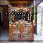 Mimbar Masjid Kubah Ukuran Jumbo