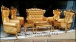 Set Sofa Tamu Syahrini Warna Emas