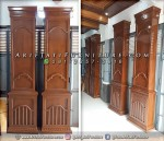 Kayu Jati Penutup Pilar Tiang Masjid