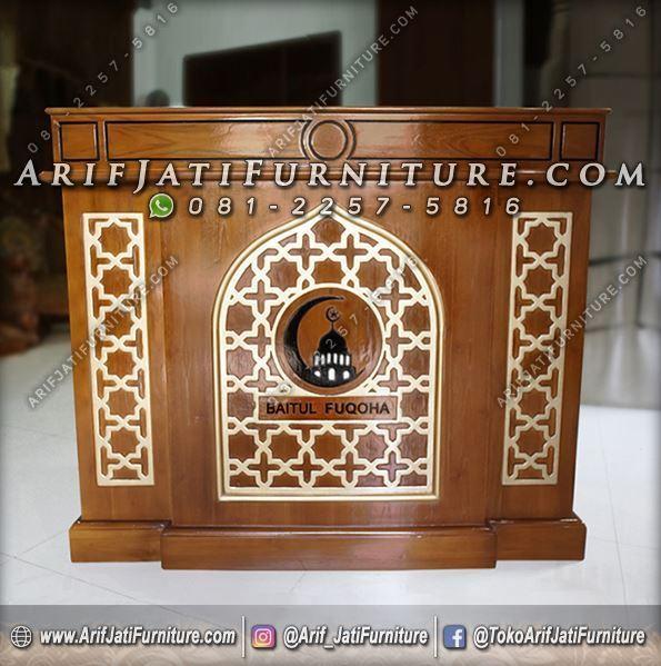 Podium Masjid Minimalis Model Terbaru